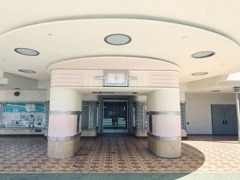 The Ambassador Hotel Entrance.  Photo via Finding Lost Angeles (2017)