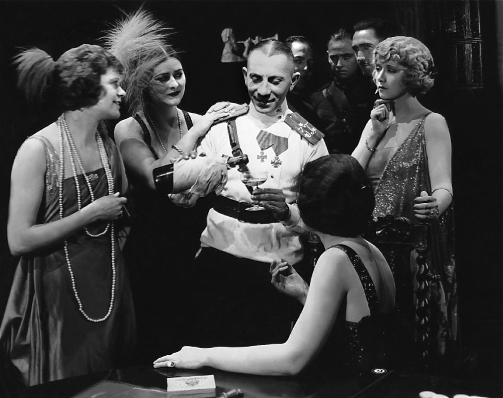 Eric Von Stroheim in  Foolish Wives  (1922)  Photo via  Universal Pictures