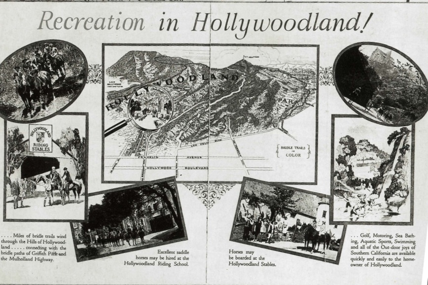 Photo via  Hollywoodland: Established 1923 .