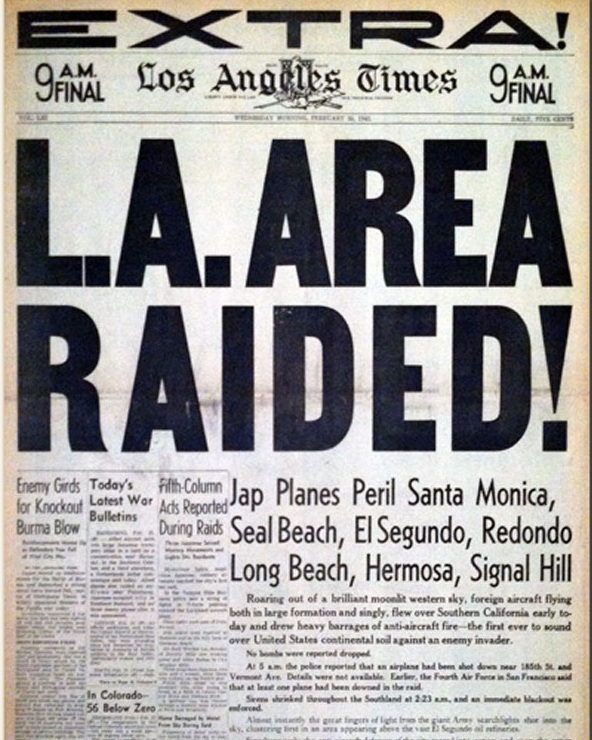 Los Angeles Times  (Feb. 25, 1942)