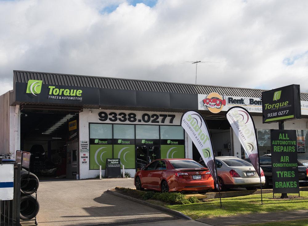 Come and say hi! - Torque Tyres and AutomotiveUnit 3, 149 Mickleham Road, TullamarineCorner of Mickleham Road and Garden Drive