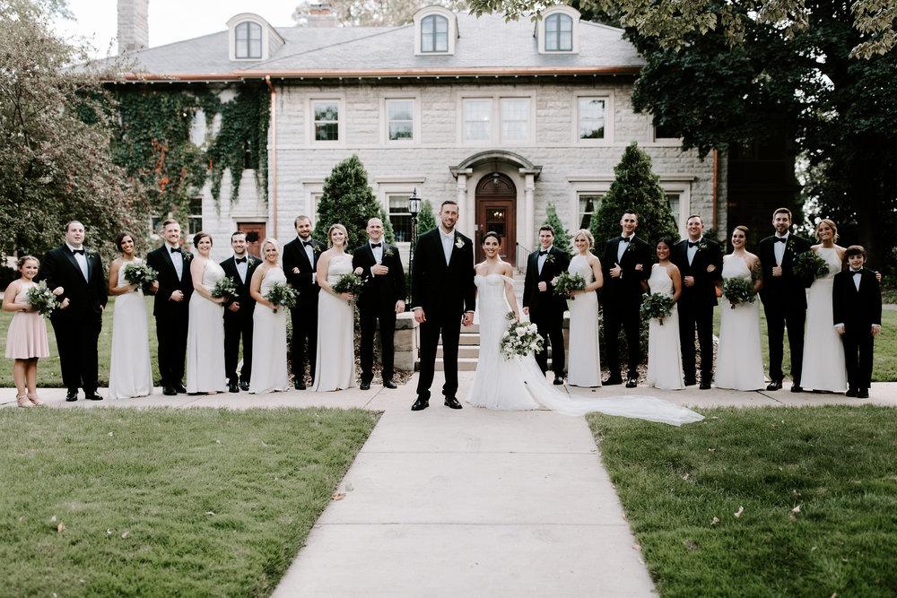 St. Paul College Club Wedding
