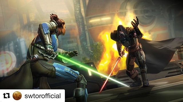 #Repost @swtorofficial with @get_repost ・・・ Star Wars: The Old Republic: Onslaught will launch FREE for all #SWTOR subscribers this September! Read more here: https://www.swtor.com/onslaught