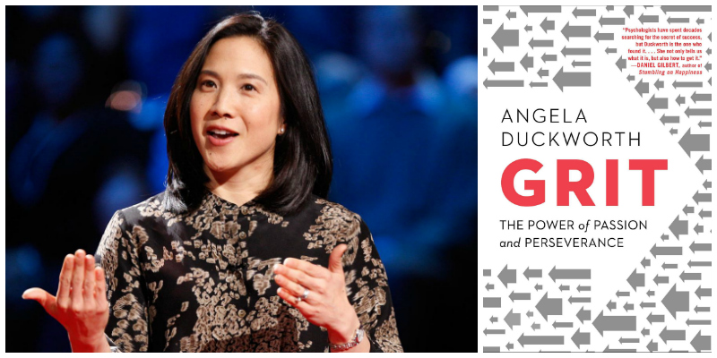 Angela Duckworth - Author of 'Grit: The Power of Passion & Perseverance' Image by  Lionesses of Africa