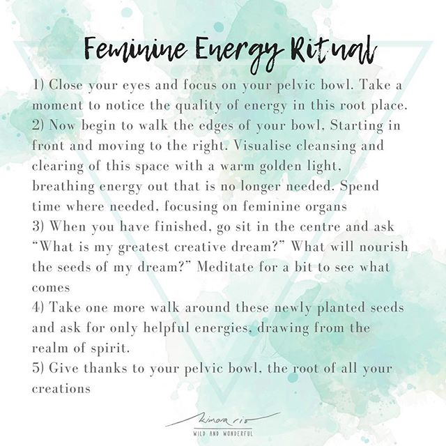 FEMININE ENERGY RITUAL ~ from the book Wild Feminine, Tami Lynne Kent  If you were coming to a guided practice + workshop around creating space for relaxation, pleasure and increasing self worth (with feminine embodiment practices and yoga), what would be the best time/day? And how long would you want? I'm feeling Sunday morning from 9-11 before brunch could be a beautiful time, but would appreciate some feedback  And if anyone might know a good yoga studio in Sydney that you'd recommend for a workshop space?  As a thank you for your feedback + celebrating being a woman today, I'd love to offer you a complimentary goodie - either a 45 minute guided feminine embodiment practice or a holistic health session, your choice! I only have limited spaces so please PM ASAP if you'd like to claim yours ❤️ I'd also love to know what you're struggling with most in this area, please feel free to reach out and express what's moving through you  Happy International Woman's Day!  You are WORTHY 💕  Thank you for your feedback xxx  www.kimarario.com