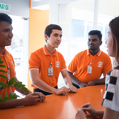TOC International Student Support - At TOC, we understand how hard it is to be away from home. We therefore provide services such as accommodation assistance, visa application services for foreign students, and campus transportation to ensure that you have an enjoyable experience at TOC.