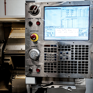 CNC LATHE MACHINE - The lathe is controlled electronically via a computer menu style interface that is capable of fast cycle times, producing simple parts in 10-15 seconds, which makes it ideal for large production runs of small diameter parts.