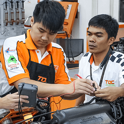 CERTIFICATE IN AUTOMOTIVE TECHNOLOGY - Need a boost-up into our Diploma programmes? This course is a fantastic platform to learn the fundamentals in the automotive industry and serves as a pathway to further studies in the automotive field.