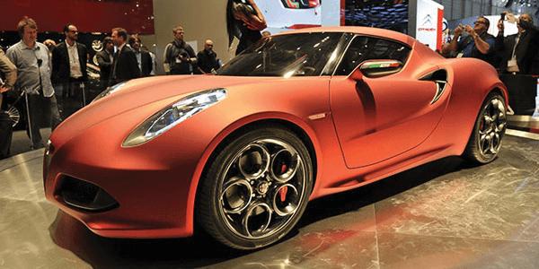 Alfa Romeo 4C | Image Source: Newspress