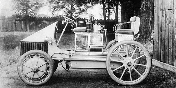 Ferdinand Porsche's original series hybrid.