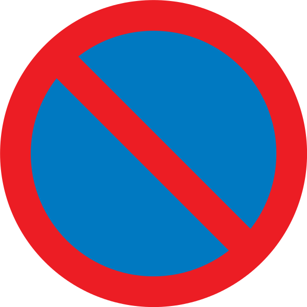 Source:  https://upload.wikimedia.org/wikipedia/commons/8/80/Dilarang_meletak_kenderaan.png