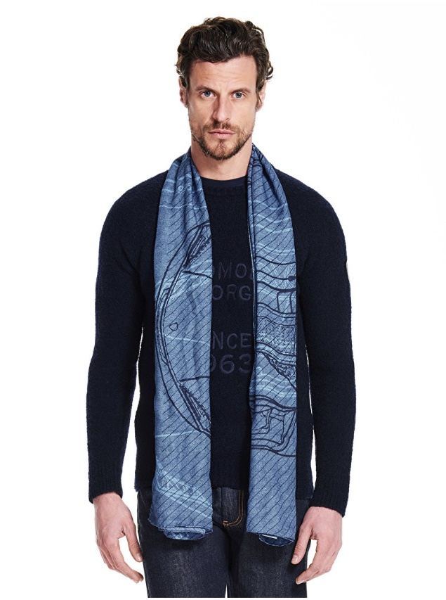 You know, you can also switch up your style and wear a Lambo scarf.