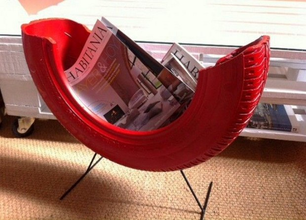 Need a magazine holder? Try this one on for size!