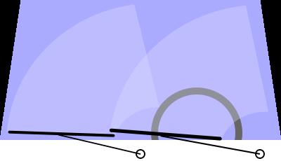 Pivot/radial wipers  Source:  https://en.wikipedia.org/wiki/File:Scheibenwischer1.svg