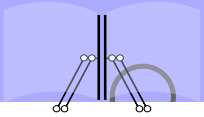 Pantograph-based wipers  Source: https://en.wikipedia.org/wiki/Windscreen_wiper#/media/File:Scheibenwischer5.svg