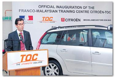 LASSUS berharap penubuhan FMTCCT dapat mengukuhkan lagi rangkaian Citroen di Malaysia dan negara-negara asean.  Source from:  Kosmo Online