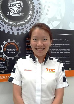 The Otomotif College chief executive officer Adelaine Foo  Source: Carsifu