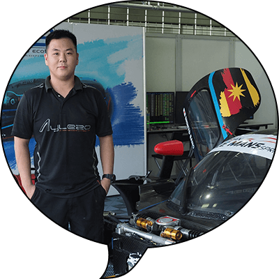 Moo Chen Wei   DMS, 2012  Position: Technician at FFF Racing Team By ACM