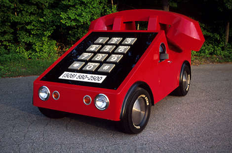 Source:  https://www.trendhunter.com/trends/modified-vehicles-howard-daviss-phone-car