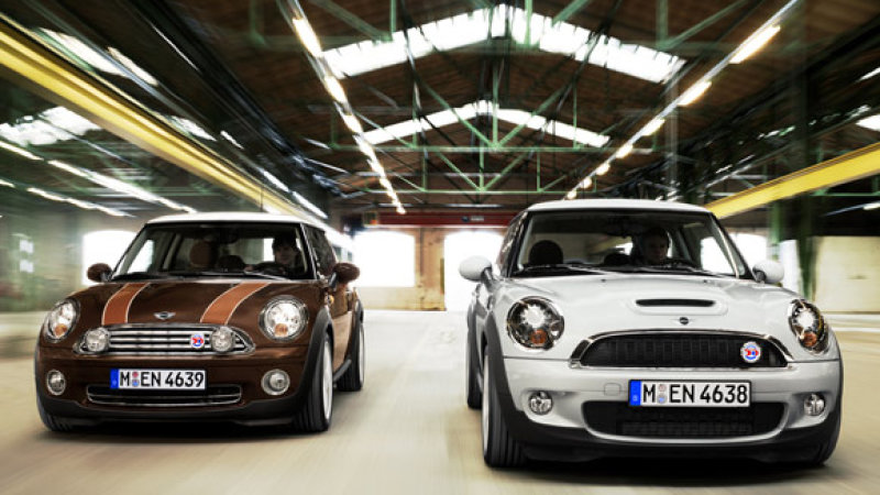 Image source:  https://www.autoblog.com/2009/05/22/mini-50-mayfair-and-50-camden-celebrate-50-years-of-tiny-cuddly/