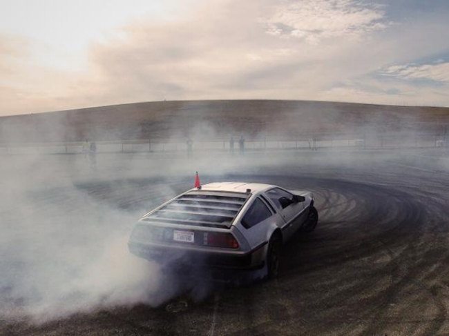 DeLorean DMC-12 drift to the future or back to the past??  Image from:  IEEE Spectrum