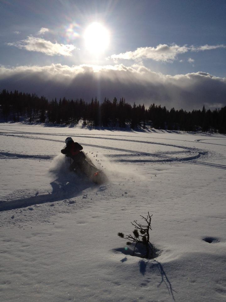 drive your own - snowmobile