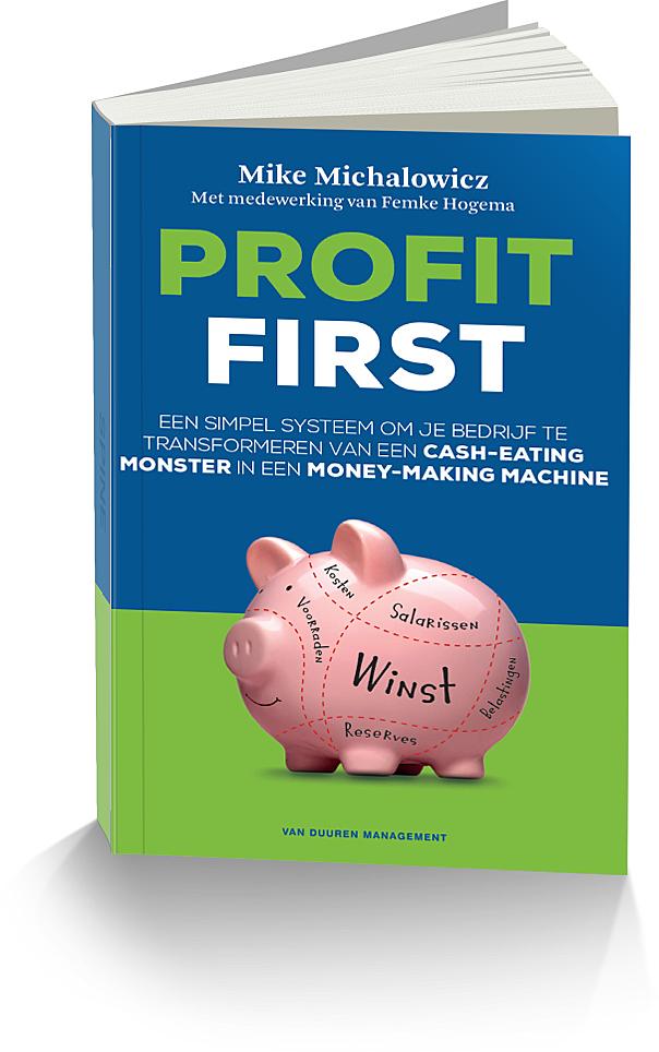 Gratis 2 hoofdstukken - 'Profit First' is een cash management systeem dat de financiële wereld volledig op zijn kop zet.Schrap de formule: Omzet – Kosten = WinstOmzet – Winst = Kosten is de nieuwe formule.Dit boek laat zien dat iedere ondernemer vanaf de allereerste dag een financieel succesvol bedrijf kan runnen, door te focussen op winst. Profit First.Begin er vandaag nog mee!