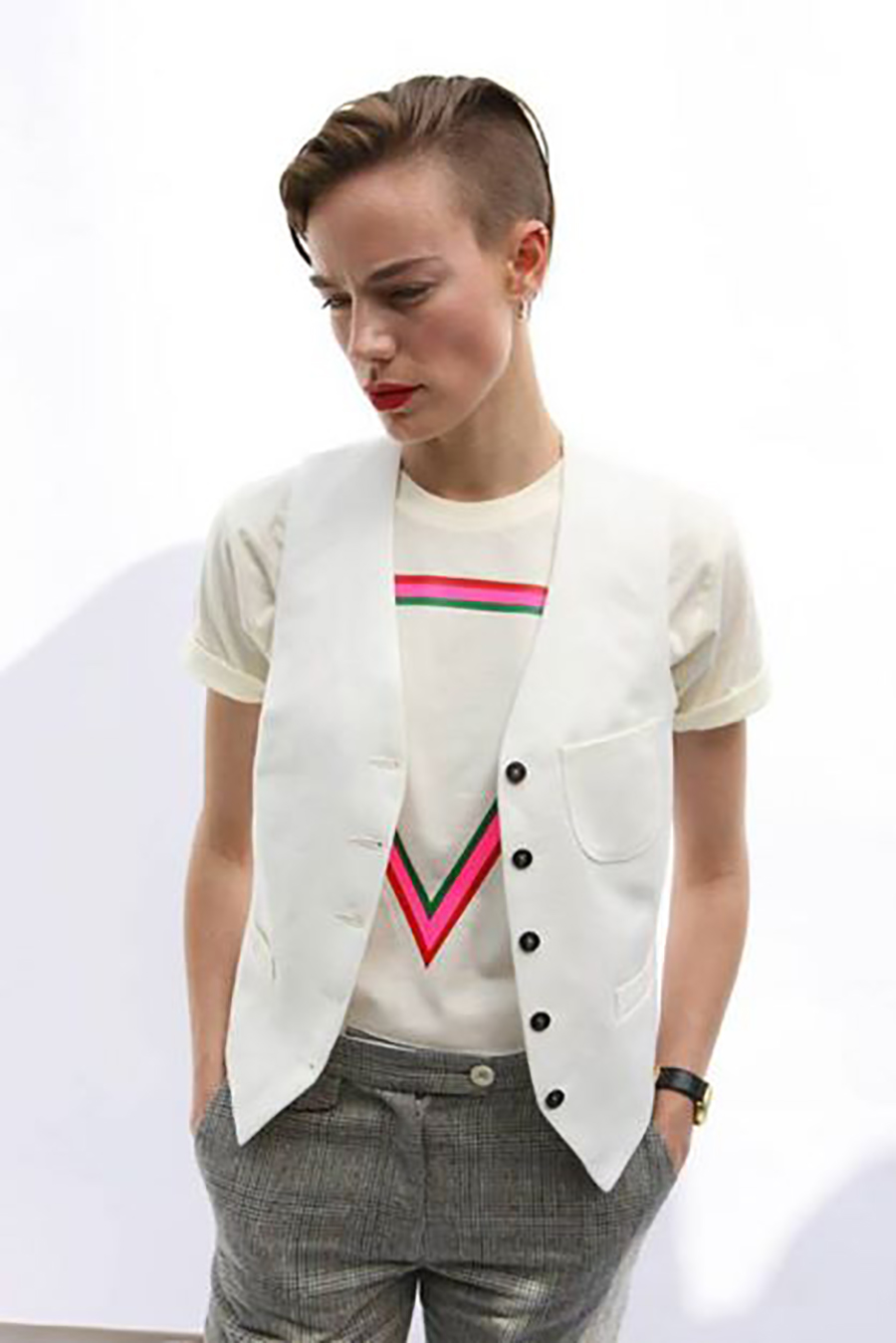 ivory waistcoat, pop tee.jpg