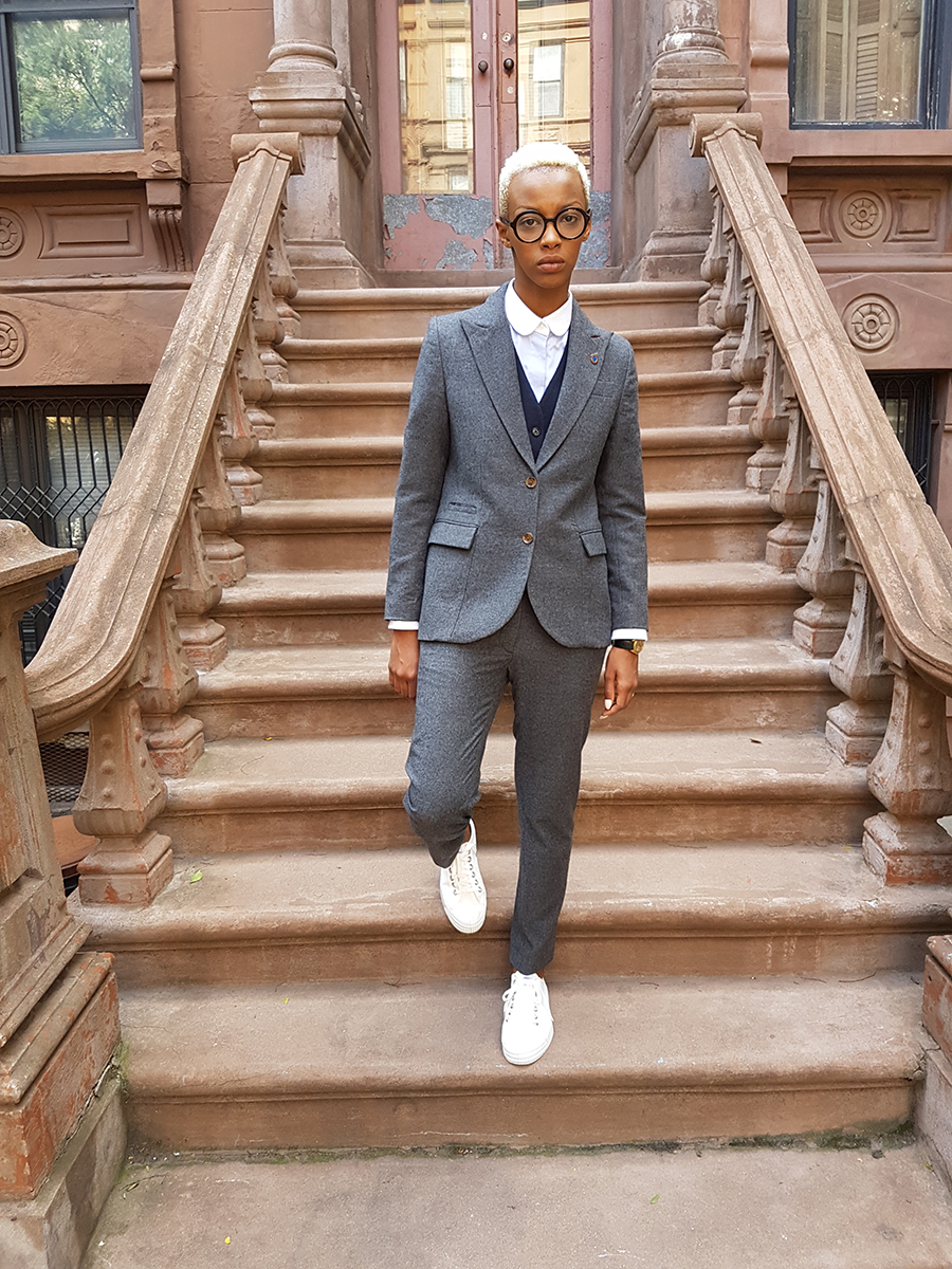 grey flannel suit, navy pique waistcoat.jpg