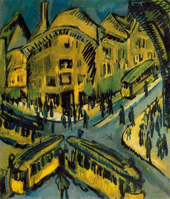 Ernst Ludwig Kirchner Nollendorfplatz 1912