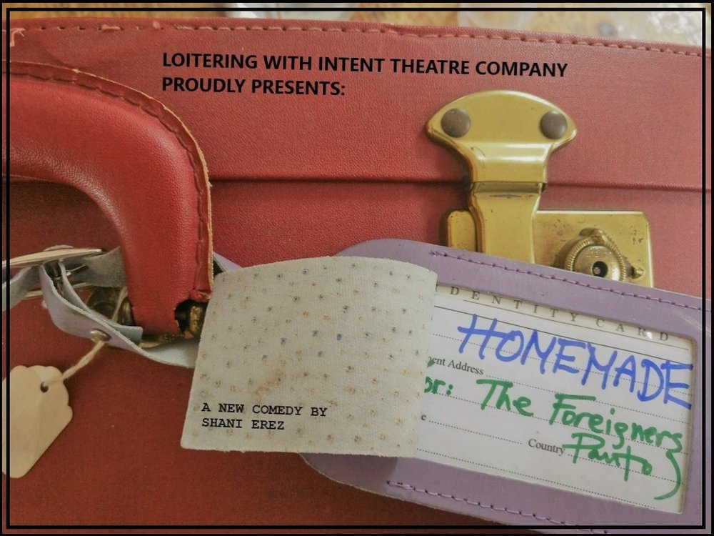 HOMEMADE (OR: THE FOREIGNERS PANTO) - 11TH & 13TH DECEMBER 2017
