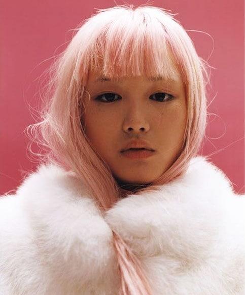Love a pop of pastel.  #pastel #pastelhair #pinkhair #hairstyling #hairstyle #hairstylist #haircut #haircolour #southmelbournesalon #behindthechair #southmlebournehairdresser #melbournehair #spencerandco