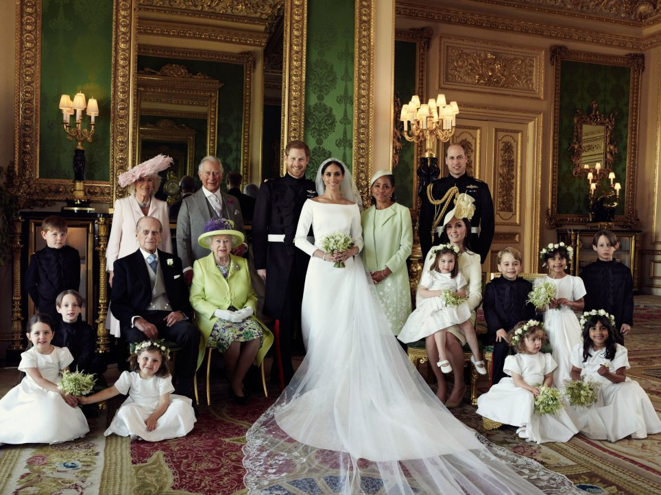 A very different diverse and inclusive Royal Wedding.