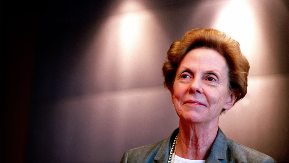 Jill Ker Conway during her time as Chairman at LendLease   Photo:Tamara Voninski via Sydney Morning Herald.
