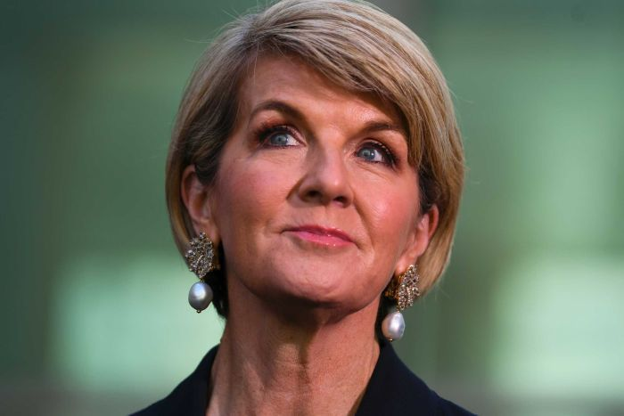 A survivor - Julie Bishop has held her position throughout the tumultuous past 11 years in Australian politics, but was not seriously considered Prime Minister material by her colleagues.