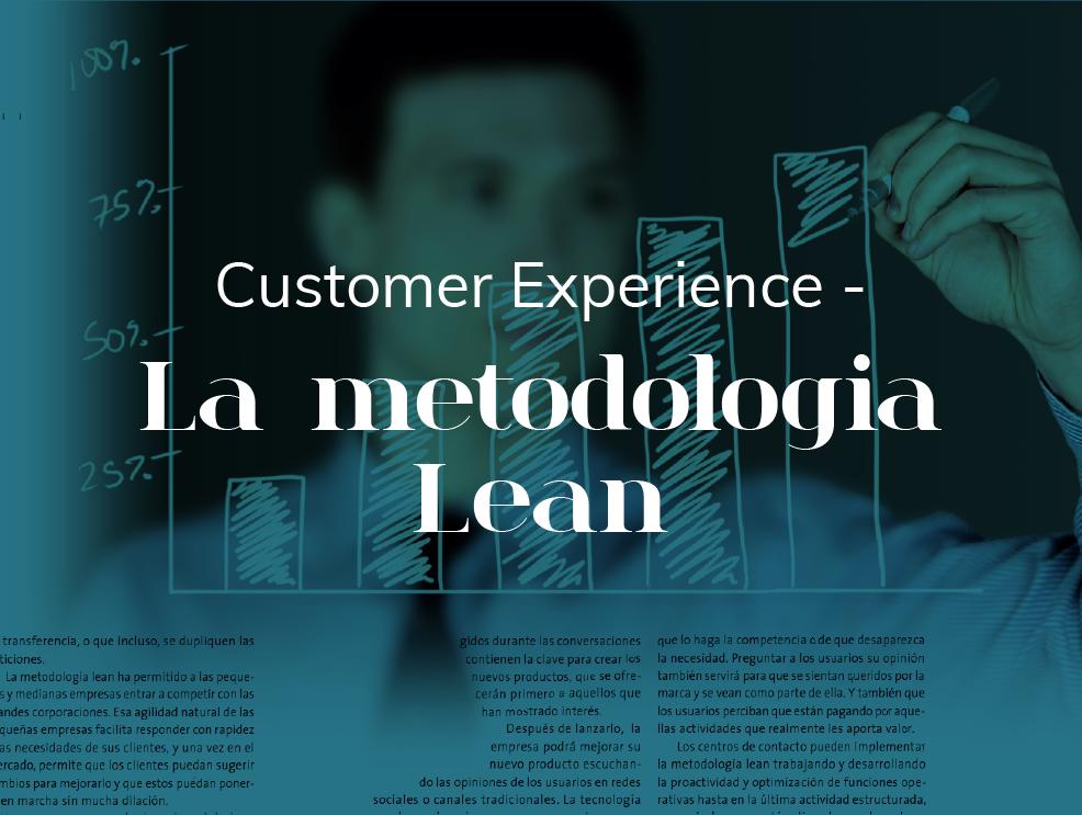 La Metodologia Lean... o cómo los pequeños negocios crecen gracias a las sugerencias de sus clientes -  2017