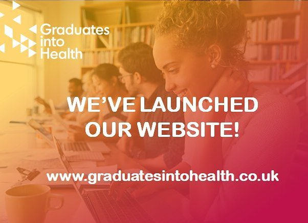 Its happened 😱 We're live!  Check out our website and keep up to date with what we're doing! Dont forget to sign up to our mailing list for the job alerts!  www.graduatesintohealth.co.uk  #gradsintohealth #london #nhscareers #nhsjobs #recruitment #nhs #graduates #university