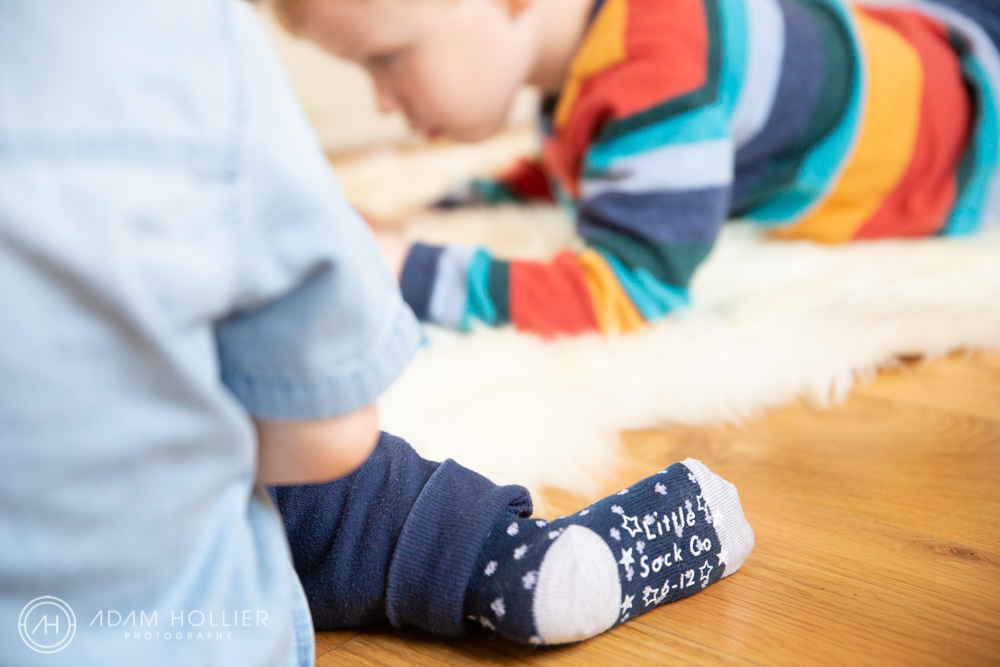 The Little Sock Company, based locally, needed some imagery to promote the launch of their new business. I spent a morning crawling on the floor with lots of little people while they played. Terrific fun!