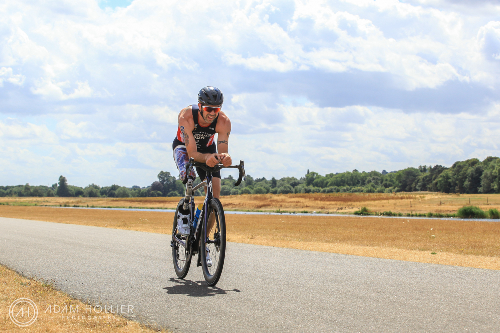 Taken at Arctic One's ParaTriathlon at Dorney Lake in the summer, this is Arctic One ambassador and European, World & Paralympic Champion, Andy Lewis MBE.