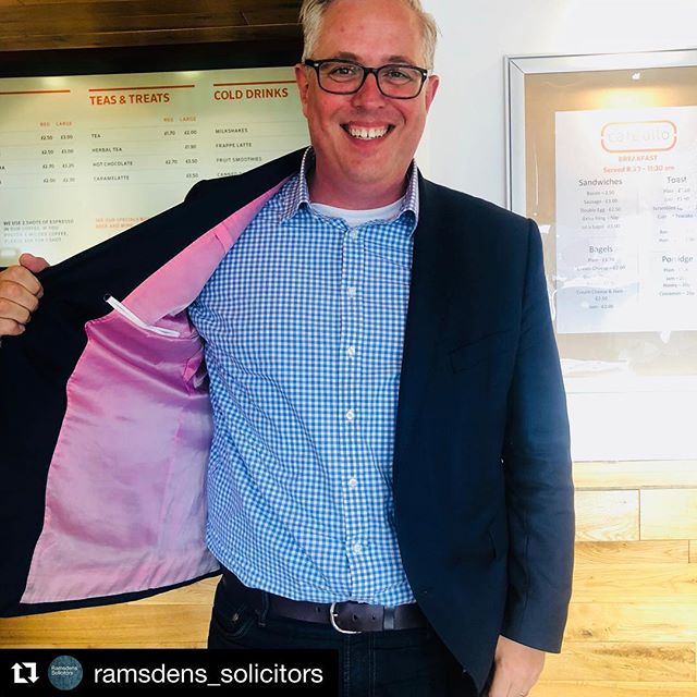 Our Chief Exec flashing some pink in support of @breastcancernow #breastcancerawareness at today's #MYnetwork  #Repost @ramsdens_solicitors ・・・ Thanks to everyone that wore #pink today at #MYnetwork @themediacentre showing your support of @breastcancernow #breastcancerawareness