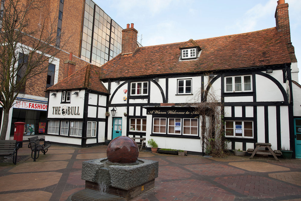 The Old Bull Pub, Bracknell Town Centre