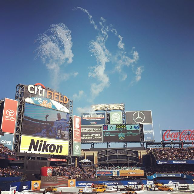 #citifield #winterclassic #nyr