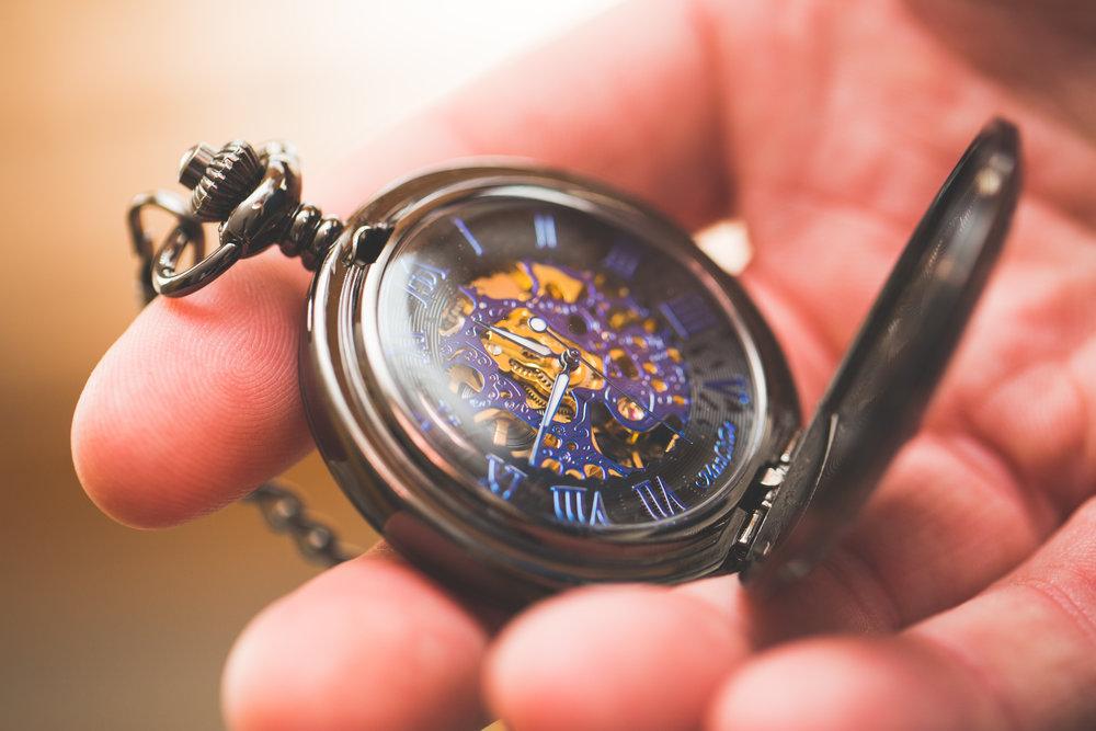 Pocket watch detail shot taken using a macro lens.
