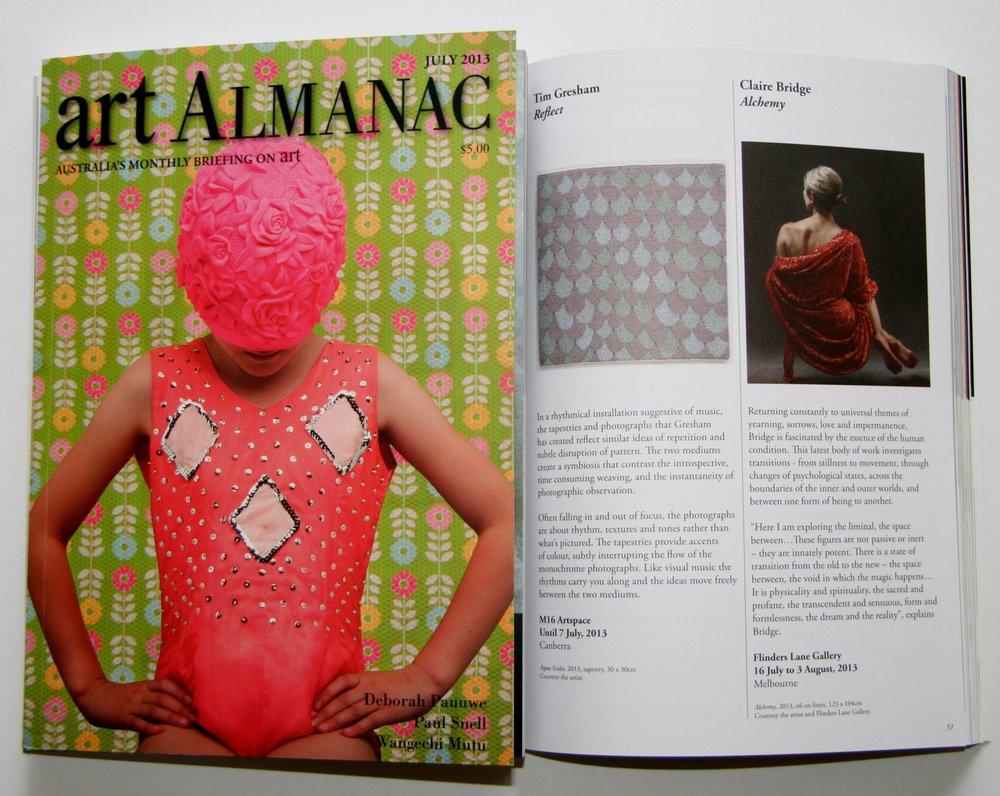 Art Almanac July 2013.JPG