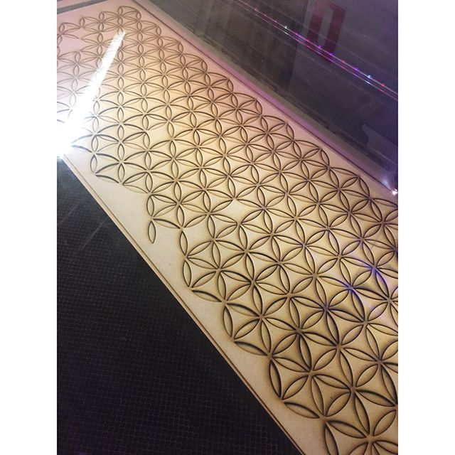 Work by AquariYes! 💥 #lasercutting #malmomakerspace #stpln #malmo #ornament #patterns #mdf #spillmaterial #diy