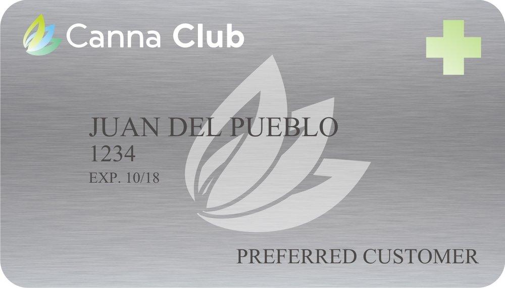 Pregunte por nuestro programa Canna Club para obtener descuentos en los servicios. -