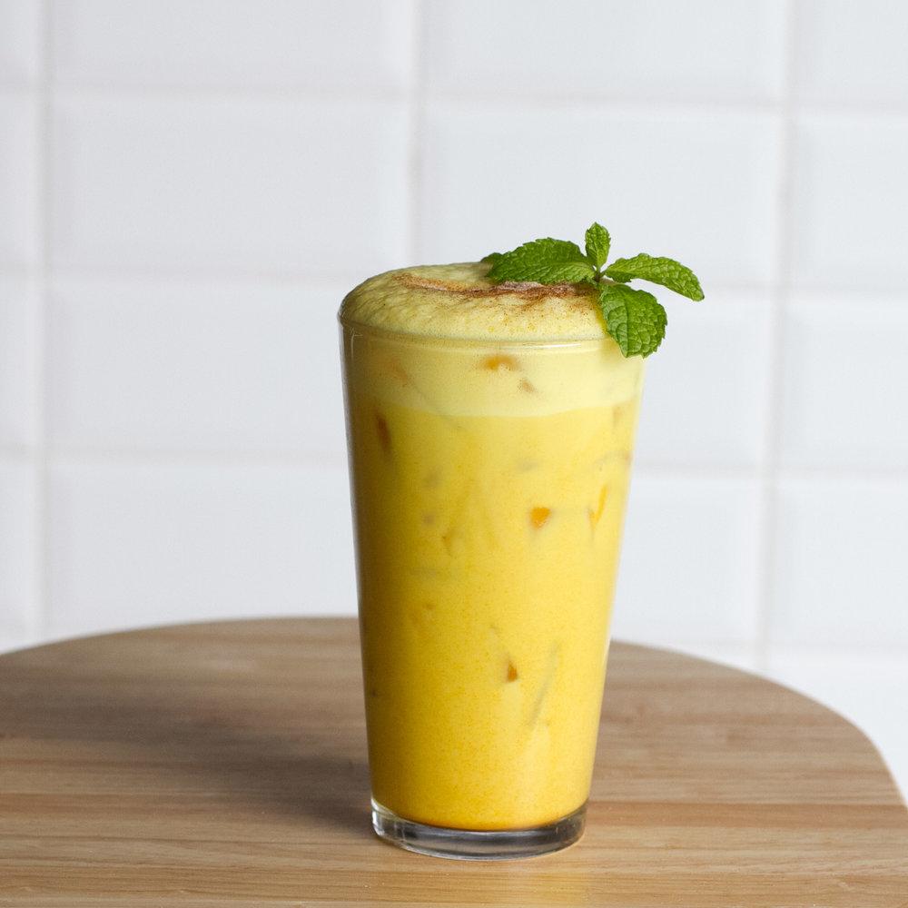 Turmeric Latte  Coconut & spice