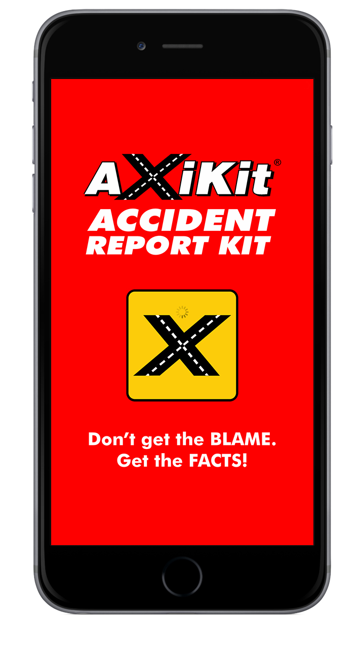 AXIKITAccident App - Guides your driver and quickly sends you a detailed accident report with photos, recordings and vital information. Learn More