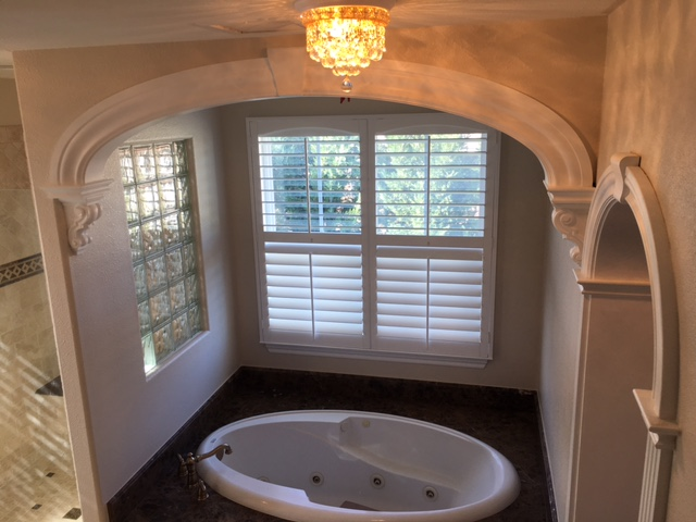 master bathroom archway over tub - model c style arch top
