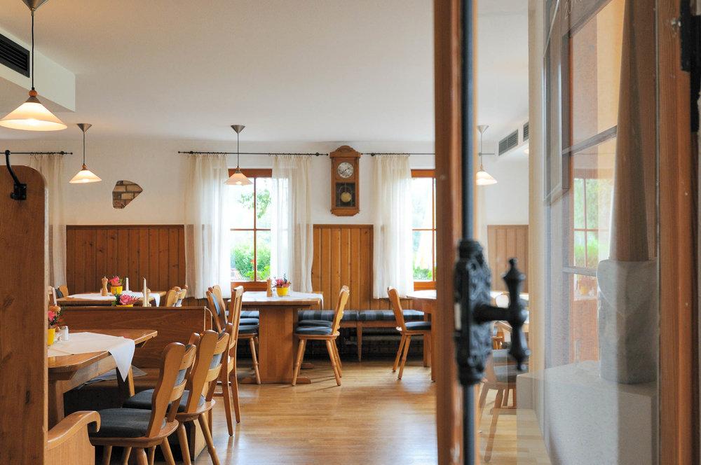Urige Gaststube im Restaurant des Gasthaus Seerose in Nitzenweiler bei Kressbronn am Bodensee